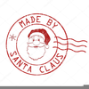Clipart Father Christmas Signature Image