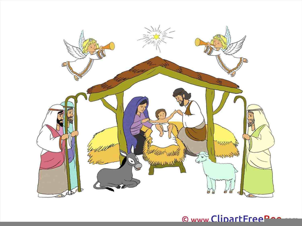 Christmas Manger Clipart Pictures | Free Images at Clker ...