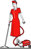 Housewife Clipart Retro Image