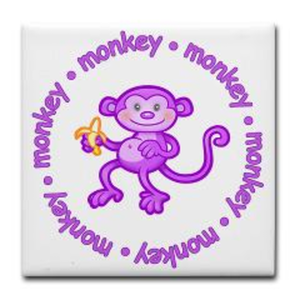 Purple Monkey Image