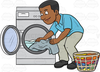Clipart Of Clothes Dryer Image