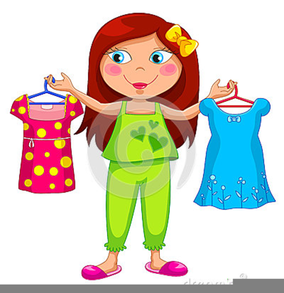 getting dressed for school clipart free images at clker
