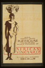 Wpa Federal Theatre Playhouse, Tulane And Miro, World Premiere Of  African Vineyard  By Gladys Unger & Walter Armitage Image