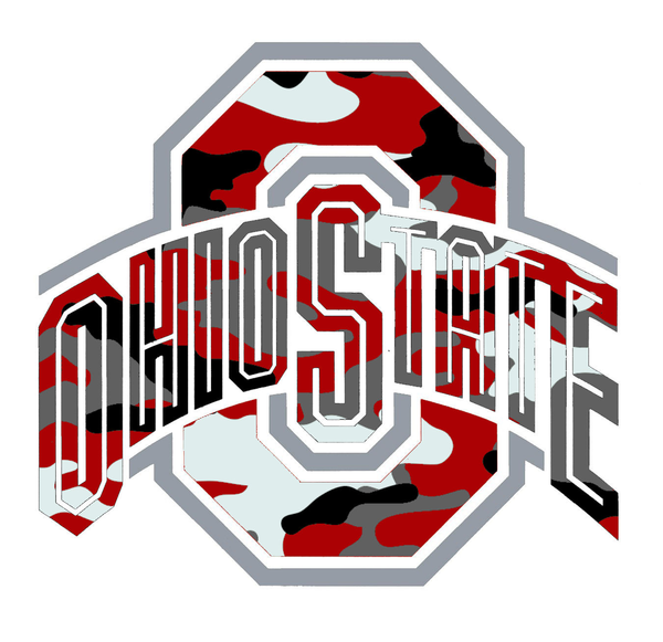 Ohio State Logo Camo | Free Images at Clker.com - vector clip art ...
