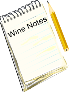 Wine Notes Clip Art