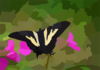 Yellow Swallowtail Clip Art