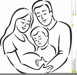 Father And Mother Clipart Image