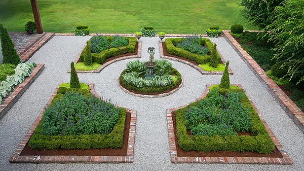 Formal garden free images at vector clip art for Formal english garden designs
