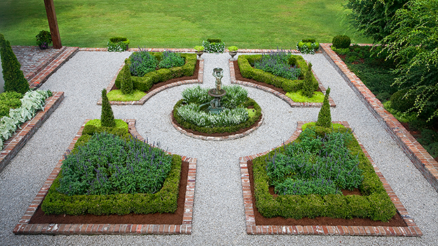 Formal Garden Free Images At Clker Com Vector Clip Art