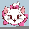 Free Clipart Cute Cat Image