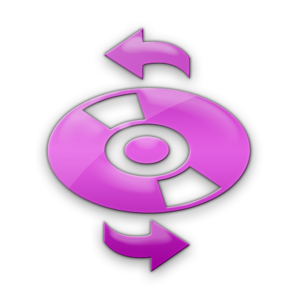 Pink Jelly Icon Media Cd Refresh Image