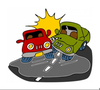 Car Accident Clipart Free Image