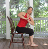 Chair Yoga Image