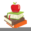 Books And Apples Clipart Image