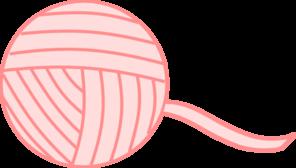 Pink Yarn Clip Art at Clker.com - vector clip art online ...