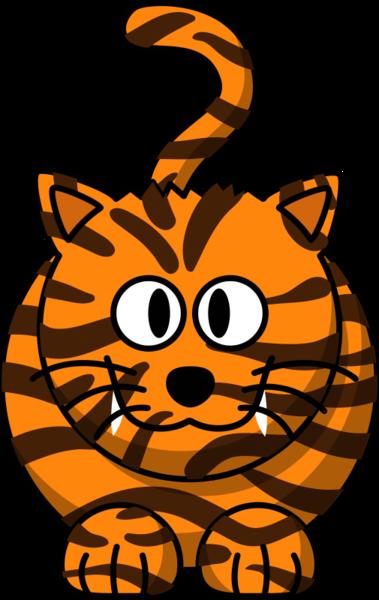 Tiger   Free Images at Clker.com - vector clip art online ...