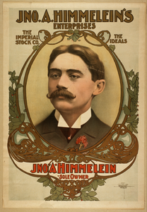 Jno. A. Himmelein S Enterprises The Imperial Stock Co., The Ideals. Image