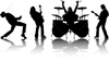 Clipart Of A Rock Band Image