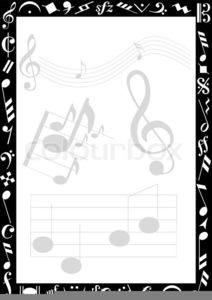 Free Clipart Music Notes Border Free Images At Clkercom Vector