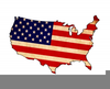 Patriotic Eagle Clipart Free Image