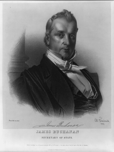 James Buchanan, Secretary Of State Image