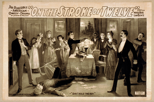 On The Stroke Of Twelve The Plausible American Comedy Drama : By Joseph Le Brandt. Image