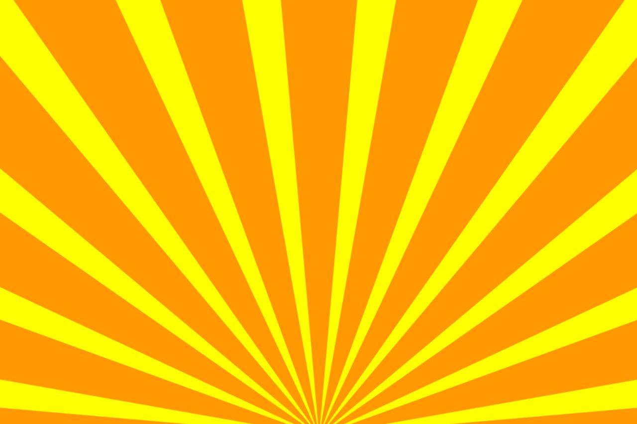 yellow rays vector -#main