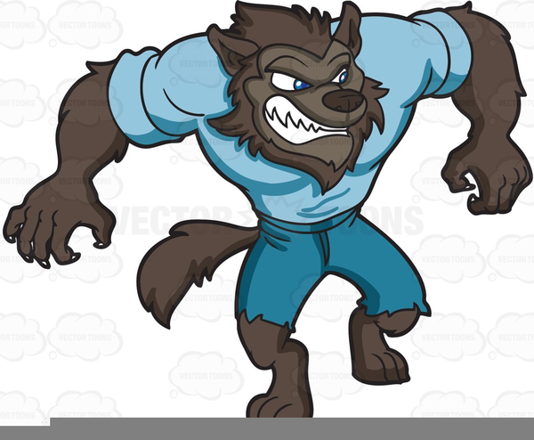 Halloween Werewolf Clipart Free Free Images At Clker Com