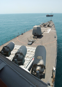 Uss Cushing Conducts Mio Operation In The Arabian Gulf. Image