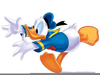 Donald Duck Football Clipart Image