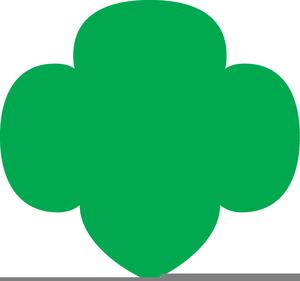 girl scout trefoil clipart free images at clker com vector clip rh clker com