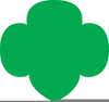 Girl Scout Trefoil Clipart Image
