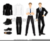 Formal Dress Clipart Image