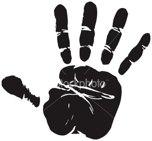 Ist Eps Vector Hand Print Credit Image