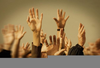 Raised Hands In Worship Clipart Image