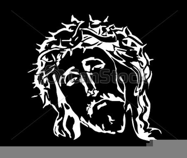 Jesus Christ Clipart Black And White