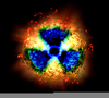 Cool Radiation Symbol Image