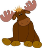 Moose Clipart Cartoon Images Kids Image