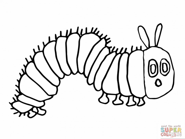 Caterpillar Clipart Black And White Free Images At Clkercom
