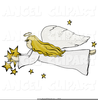 Free Clipart Praying Angel Image