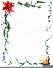 Free Border Clipart Flowers Image