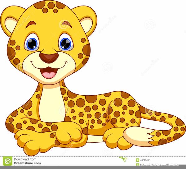 Cute Leopard Clipart | Free Images At Clker.com - Vector ...