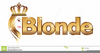 Free Clipart Of Blonde Girl Image