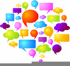 Free Clipart Speech Balloons Image