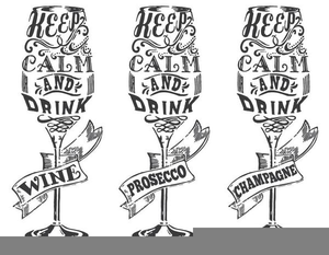 Black And White Wine Glass Clipart Free Images At Clker Com Vector Clip Art Online Royalty Free Public Domain