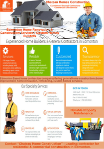 Experienced Home Builders General Contractors In Edmonton Image