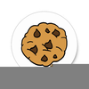Clipart Chocolate Chip Cookies Image