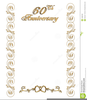 Free Clipart For Wedding Invitation Borders Image