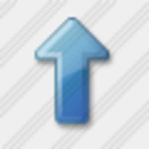 Icon Arrow Up Blue 4 Image