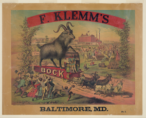 F. Klemm S Bock - Baltimore, Md. No. 1 Image
